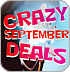 Crazy September Deals